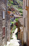 Old mountain village Monsanto(Portugal) Royalty Free Stock Photo
