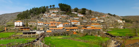 Old moutain village in Portugal Stock Photography