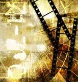 Old movie background. Old movie - background in grunge style Stock Photos
