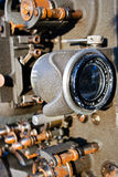 Old movie camera Royalty Free Stock Image