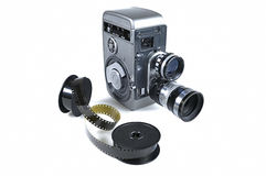 Old Movie Camera Stock Photography
