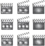 Old movie clapper Royalty Free Stock Images