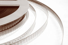 Old movie film Stock Image