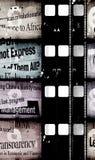 Old movie Film. Old 35 mm movie Film reel royalty free stock images