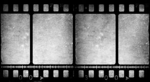 Old  movie Film. Old 35 mm movie Film reel Royalty Free Stock Photography