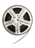 Old movie film on metal reel Royalty Free Stock Photos
