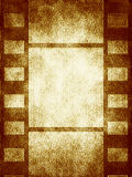 Old movie frames. Movie frames in the old style Royalty Free Stock Photos