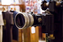 Old movie projector Royalty Free Stock Photography