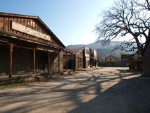 Old Movie Ranch. Historic Paramount Ranch, now part of Santa Monica Mountains National Park Stock Photos