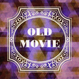 Old Movie. Vintage Background. Royalty Free Stock Photography