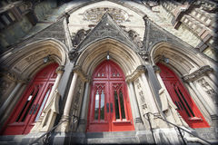 The Old Mt Vernon Place United Methodist Church royalty free stock photo