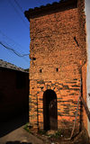 Old mud house in china Stock Images