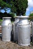 Old mulk churns, Hampton Loade. Royalty Free Stock Photos