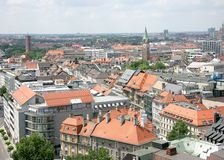 Old Munich. View from above 3 Stock Photos