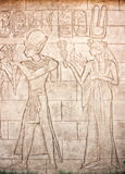 Old Murals. Wall carving. Stock Image