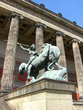 The Old Museum. Is the oldest of the museums in Berlin, finished in 1830 according to the plans by Prussian architect Karl Friedrich Schinkel Stock Images