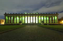 Old museum in berlin, germany Royalty Free Stock Photo