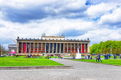 Old Museum in Berlin in Germany Royalty Free Stock Image