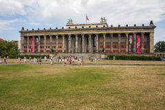 Old Museum in Berlin Stock Photography