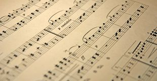 Old music Royalty Free Stock Images