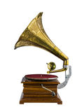 Old music box  Royalty Free Stock Photo