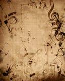 Old music sheet Royalty Free Stock Photo
