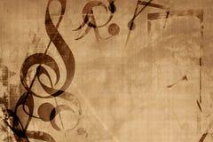 Old music sheet Stock Photos