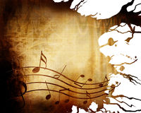 Old music sheet Royalty Free Stock Photography