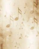 Old music sheet Stock Image
