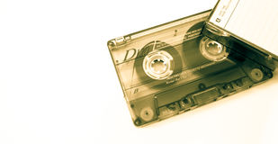 old music tape and cassette Stock Images