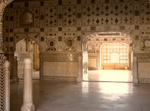 Old muslim architecture in India Royalty Free Stock Image