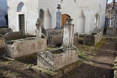 Old muslim cemetery Stock Images