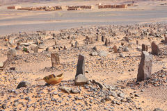 Old Muslim cemetery Royalty Free Stock Photography