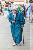 Old Muslim lady Stock Photography