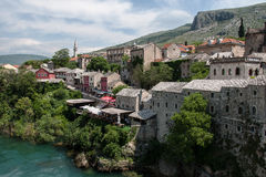 Old Muslim part of Mostar Royalty Free Stock Image