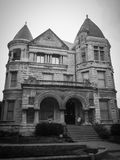 Old Musuem Home Architectural Louisville Kentucky. Old creepy house that you can tour in Louisville, Kentucky stock photo
