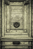 Mysterious door Stock Images