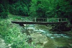 Old mystery bridge Stock Image