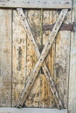 Old mystery wooden door Stock Photography
