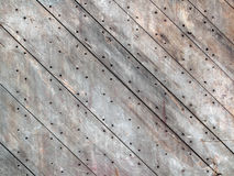 Old Nailed Wood Boards Royalty Free Stock Photos
