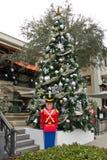 Old Naples, christmas tree Stock Photography