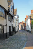 Old narrow faversham lane Royalty Free Stock Photos