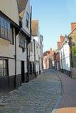Old narrow faversham lane Royalty Free Stock Photos