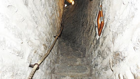Old narrow stairs in lighthouse. Royalty Free Stock Photography