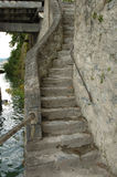 Old narrow stairs Stock Photos