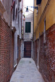 Old narrow street Stock Photos