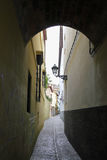 Old narrow street Stock Photography
