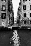 Old narrow street in Venice, Italy Stock Image