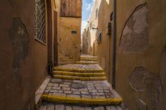 The old narrow streets of Jaffa. Tel Aviv, Royalty Free Stock Photography