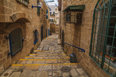 The old narrow streets of Jaffa. Tel Aviv, Stock Photos